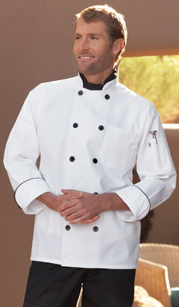 407 Madrid, White Chef Coat