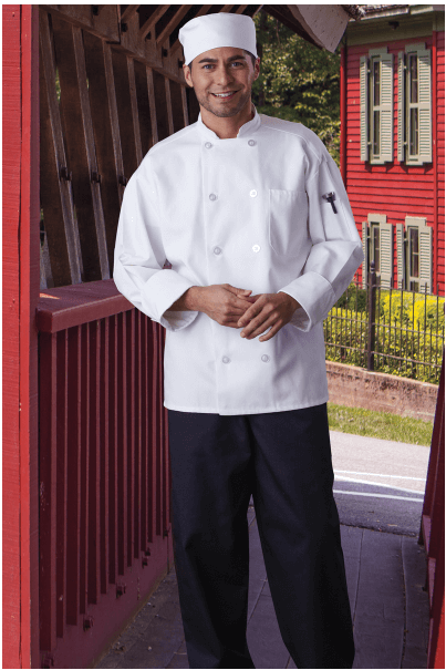 Chef Coats 0426 White