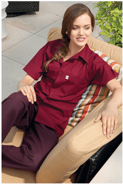 Utility Shirts Burgundy