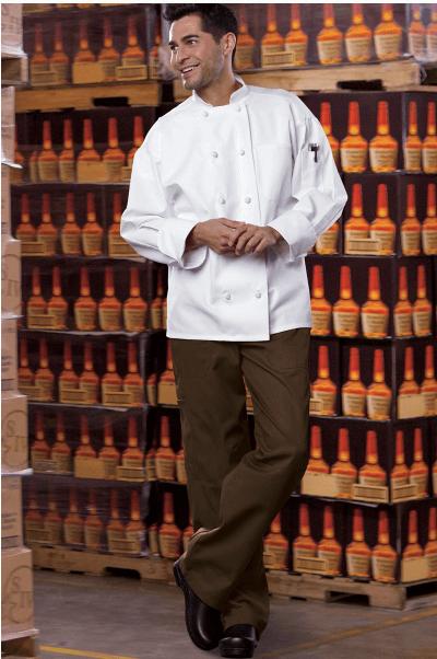 Chef pants brown