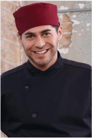 Chef Hats burgundy