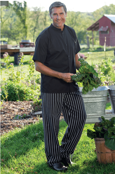 Chef pants chalkstripe