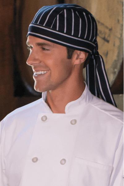Chef Hats chalkstripe