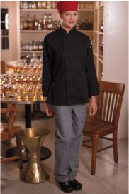 Chef pants glen plaid