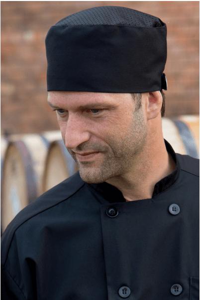 Chef Hats kool mesh black