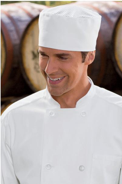 Chef Hats kool mesh white