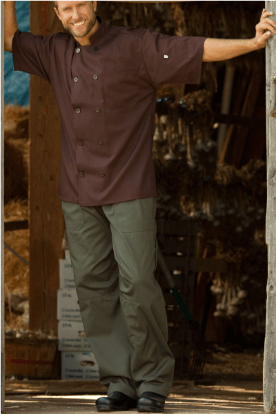 Chef pants olive