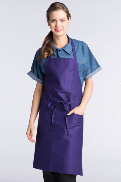 Aprons purple