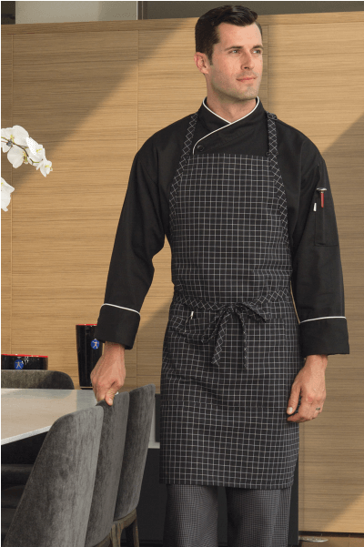 Aprons windowpane